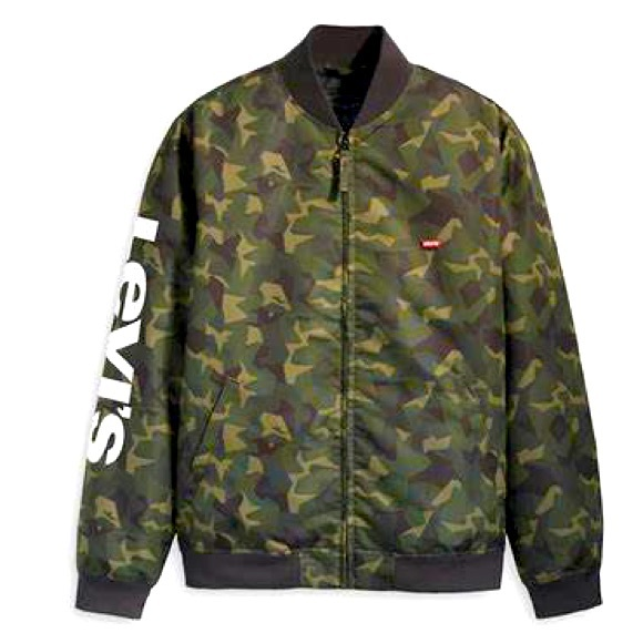 Levi's bomber in camouflage